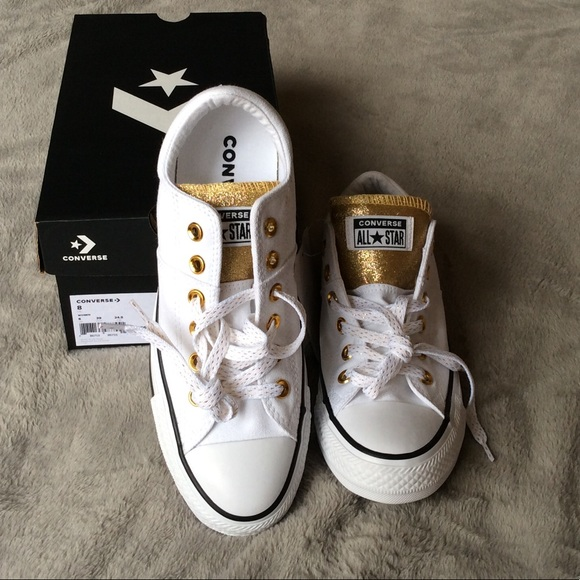 NIB Converse All Star Madison Glitter Sneakers 8 67b69f00f2